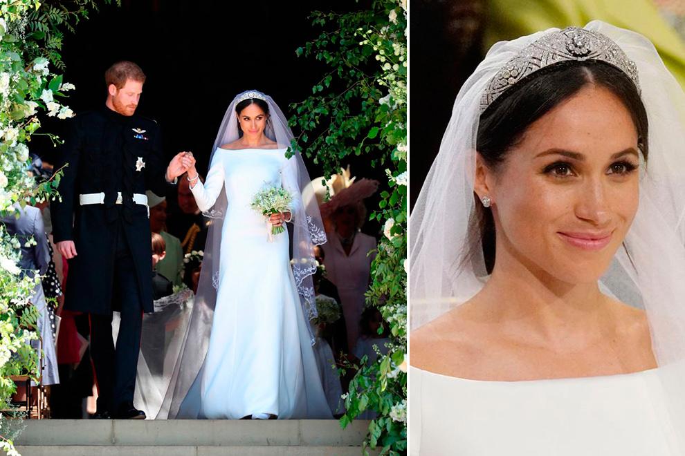 404d49c686 O vestido de noiva de Meghan Markle + acessórios + beleza - Constance Zahn