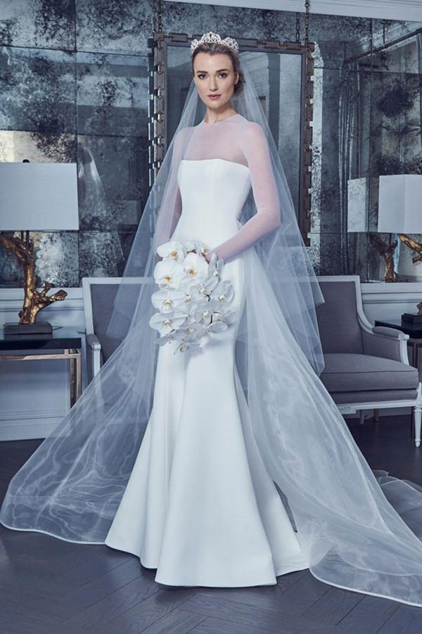 10 Modelos Parecidos Com O Vestido De Noiva De Meghan Markle Constance Zahn Casamentos